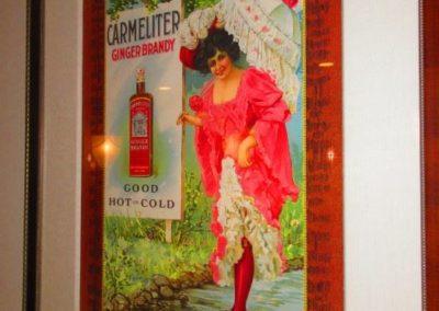 Carmeliter ginger brandy framed print