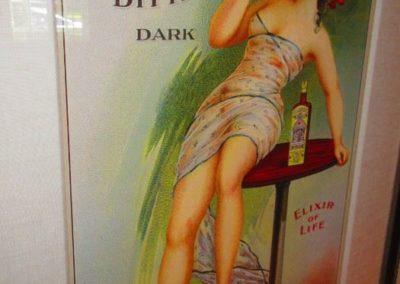 Carmeliter bitters dark framed print