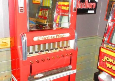 Vintage cigarette machine