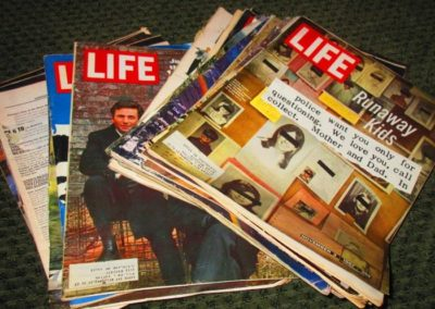 "Vintage ""LIFE"" magazines"