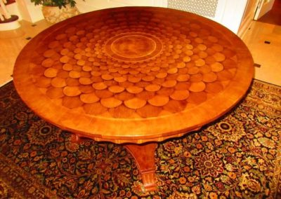 19th C. Continental Hall Table *Rug Not Included In Sale