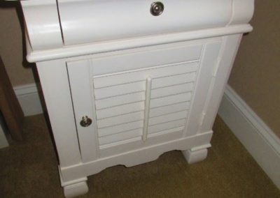 Lacquered Nightstand