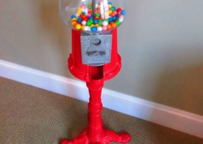 Vintage Gumball Machine on Stand