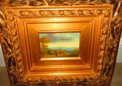 Miniature Oil on Canvas