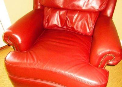 Leather Gentleman's Chair
