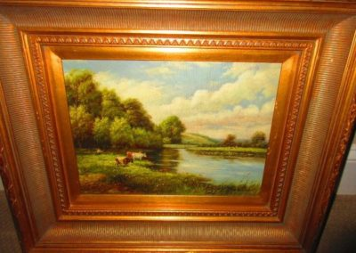 Artist Signed Oil on Canvas