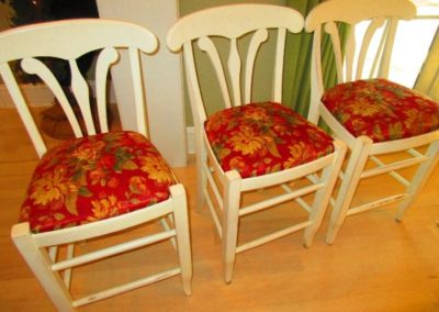 Group of Three Counter Seats