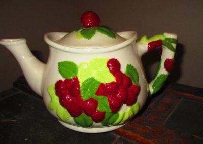 Porcelain Strawberry Tea Pot