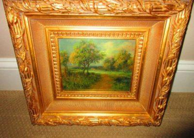 Miniature Oil on Canvas, Artist Signed