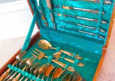 Brass Thai Flatware