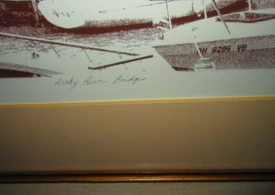 Detail of Jim Ptacek Rocky River Bridge Print